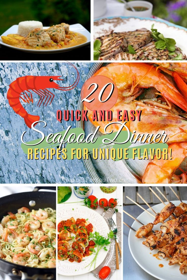 Add Some Flavor To Your Dinner Night With Delicious Seafood Dishes Here Are 20 Quick And Easy Recipes To Try Easy Seafood Recipes Easy Seafood Seafood Recipes