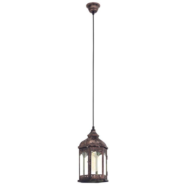 Lumina este cel mai important element prin care obiectele pot fi puse in valoare. Tocmai de aceea lampa felinar cuprata este un mijloc excelent pentru a face acest lucru. Lampa are un finisaj cuprat, fiind realizata din metal si sticla. Forma lampii este asemanatoare cu cea a unui felinar, ea ducandu-ne cu gandul la un produs cu influente orientale.