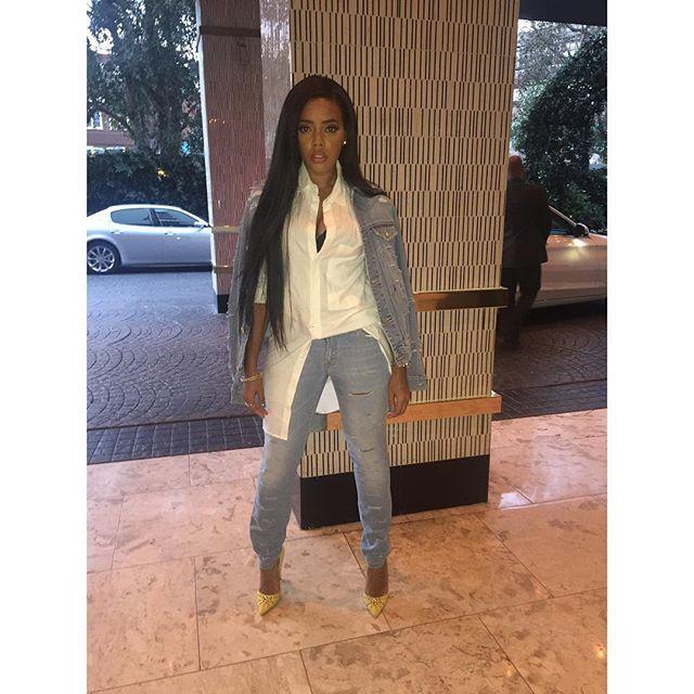 Angela Simmons @angelasimmons: EL LAY NIGHTS #SimpleNights @styledbyudi Hairstylist : @maishaoliver Mua: @brandyallen – Instagram Celebrities