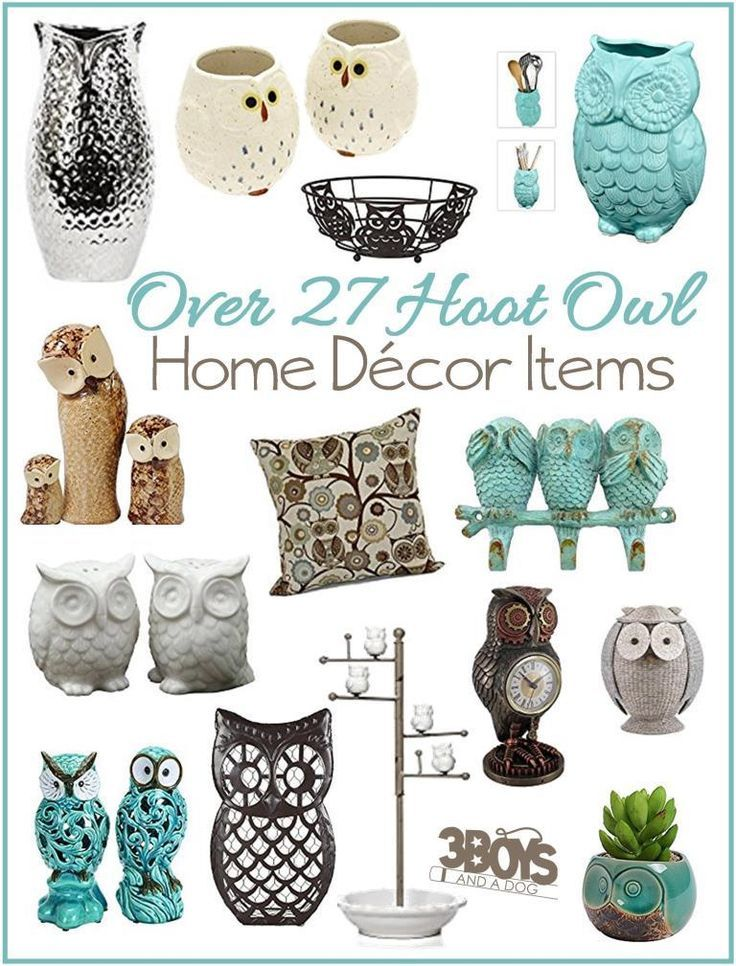 Hoot Owl Home Decor Pieces With Images
