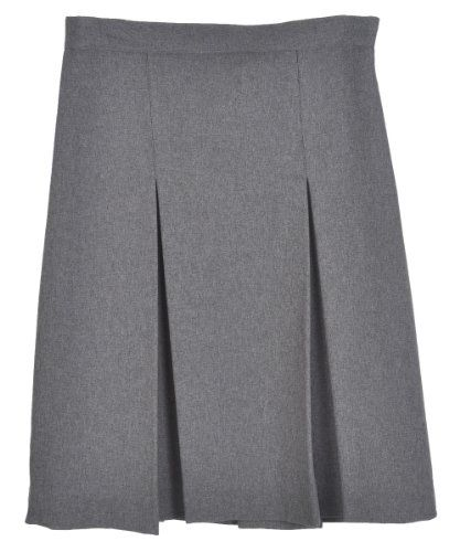 44e6d0c2a8 Cookie's Kids Cookie's Brand Big Girls' Junior Pleated Side Button Skirt -  gray, junior 19