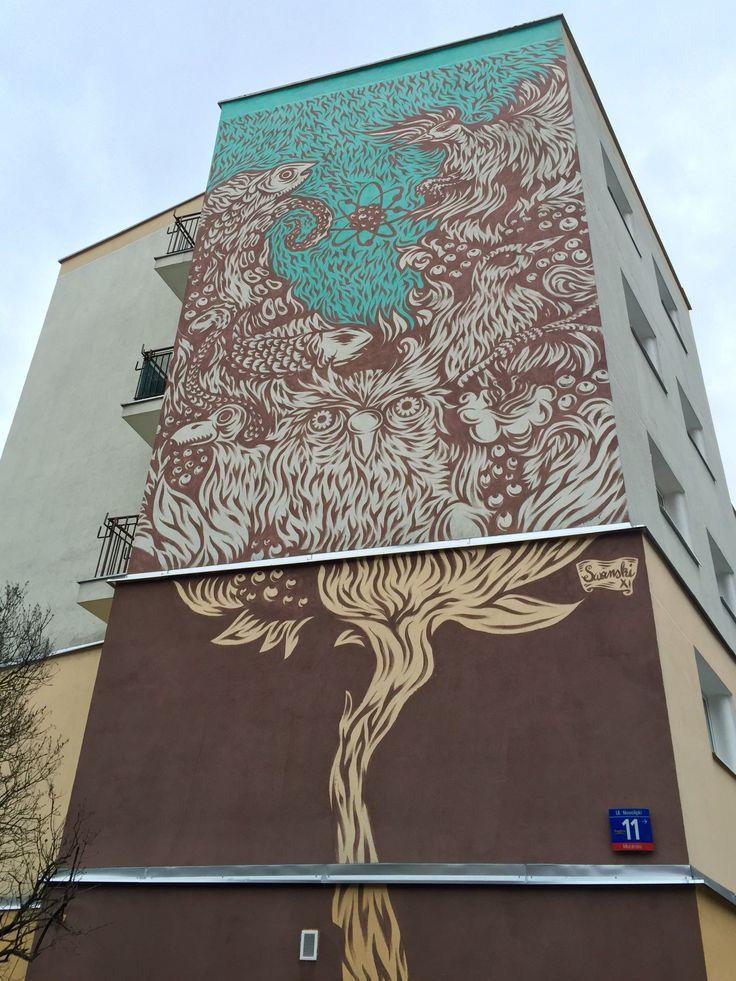 NOWOLIPKI 11, WARSAW, POLAND Swanski  More info: www.swanofobia.com  Follow also: www.instagram.com/voteltravels