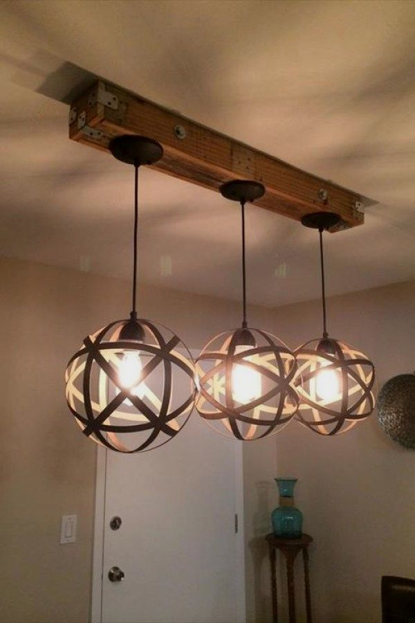 Beautiful Rustic Lighting Fixture Ideas To Complement A New