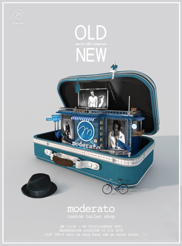 Custom Tailer 'mederato' by Lee jeungyen, via Behance