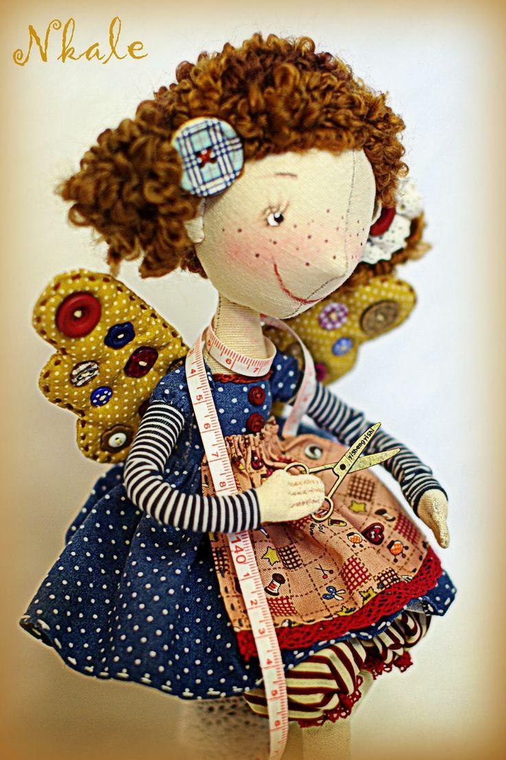 Очень позитивные куклы от Nkale(Елена Войнатовская. Челябинск). Обсуждение на LiveInternet - Российский Сервис Онлайн-Дневников