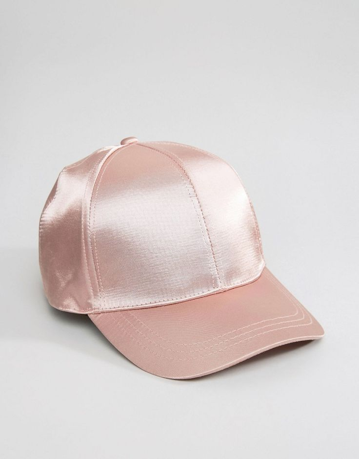Image 3 of ASOS Satin Baseball Cap