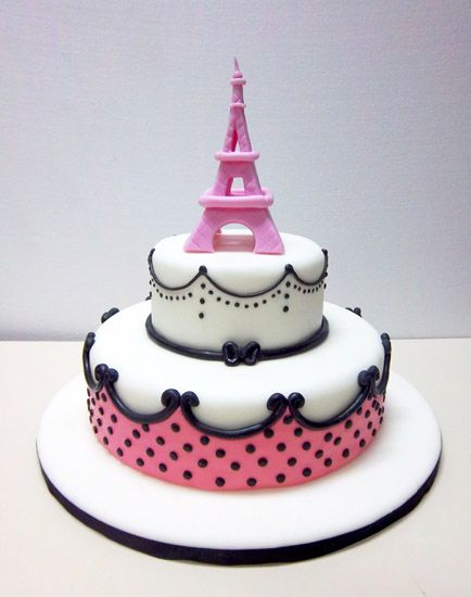 torta decorada paris - Buscar con Google
