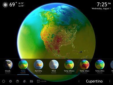 Living Earth app - en app att ta upp samtalstrådar runt.