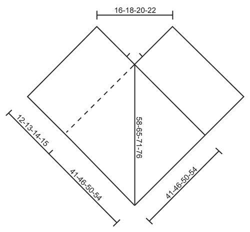 """Poncho DROPS tejido con torsadas y patrón de calados, en """"Nepal"""". Talla: S – XXXL.   Patrón gratuito de DROPS Design."""