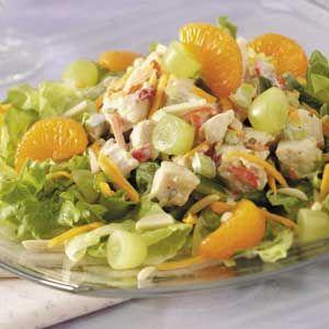 Simple Luncheon Salad Recipe
