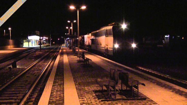 E.656 con il treno del circo a Monterotondo - E.656 with circus train in Monterotondo