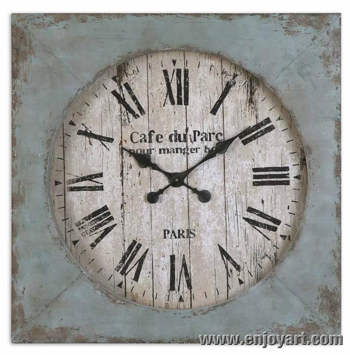 Pallet Distressed Clock 16 best Distressed Clock