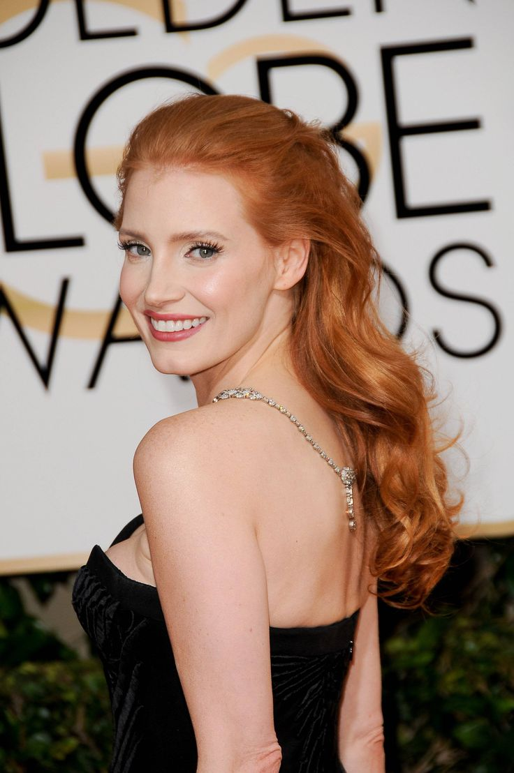 Jessica Chastain the most beautiful woman in the world <3
