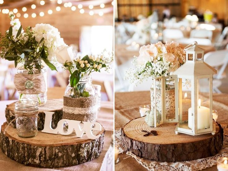 Ways To Add Height To Your Wedding Centrepiece Wood