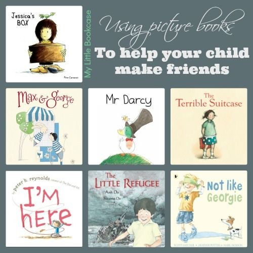 Book List: Books about making friends