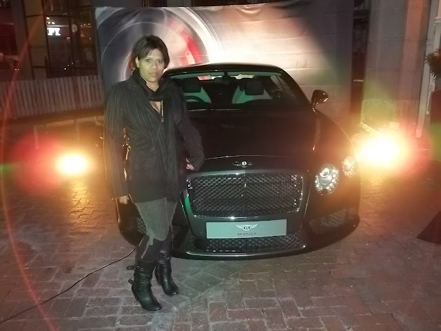 Me and the #BentleyGTV8