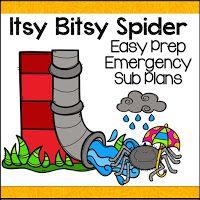 Ms. Moran's Kindergarten: Kindergarten Sub Plans in a Snap- Kindergarten Emergency Sub Plans