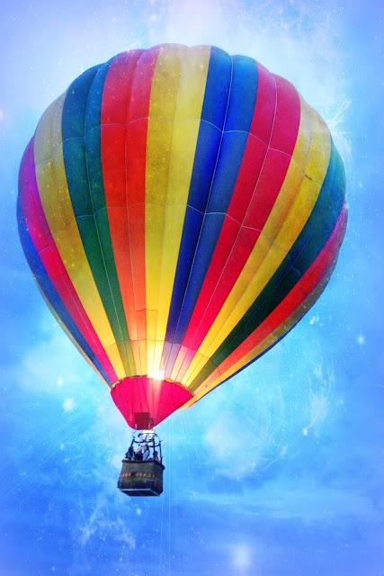 Take a ride in a hot air balloon.