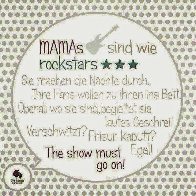 Mamas sind wie rockstars
