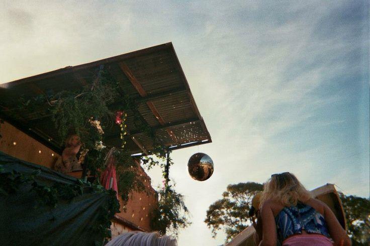 Disco Truck, New Years Evie Festival,Tallarook. 35mm film.