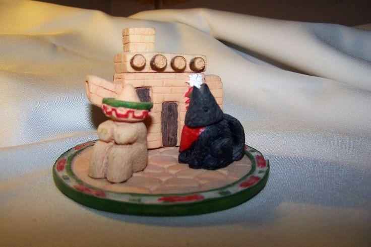 Miniature Themed Tea Set. Southwestern theme.