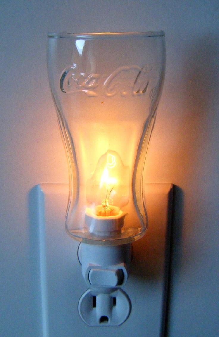 11 best green coca cola glass images on pinterest cola coke and light green glass coca cola pattern custom night light 1199 via etsy arubaitofo Image collections