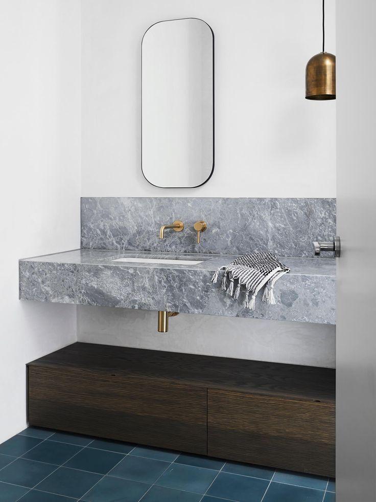 Marble Master Bathroom Decor