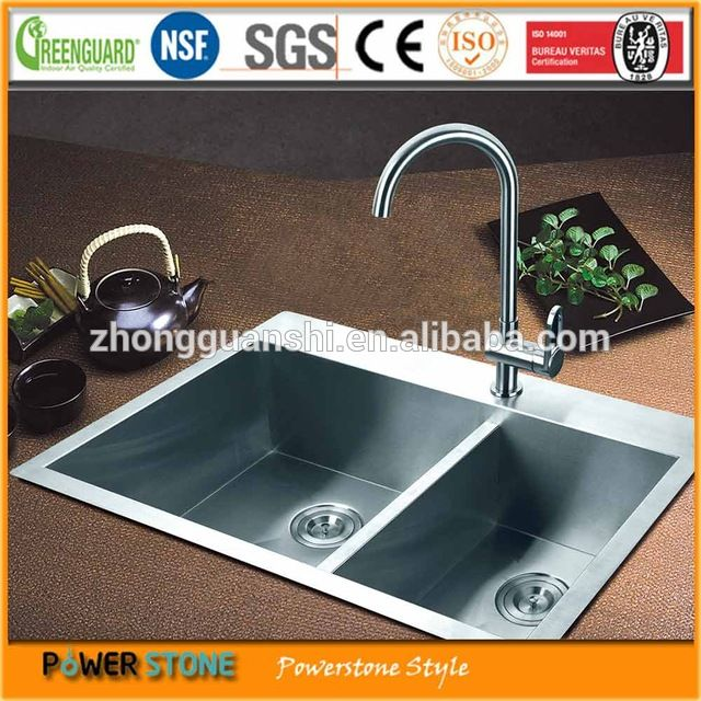 Look what I found Via Alibaba.com App: - Chinese Modern Double Bowl Stainless Steel Kitchen Sink for Sale