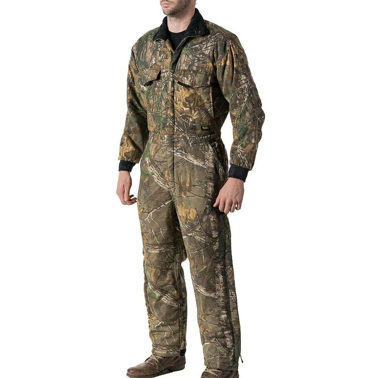 Men's Walls Camo Insulated Coverall, Size: Large, Ovrfl Oth