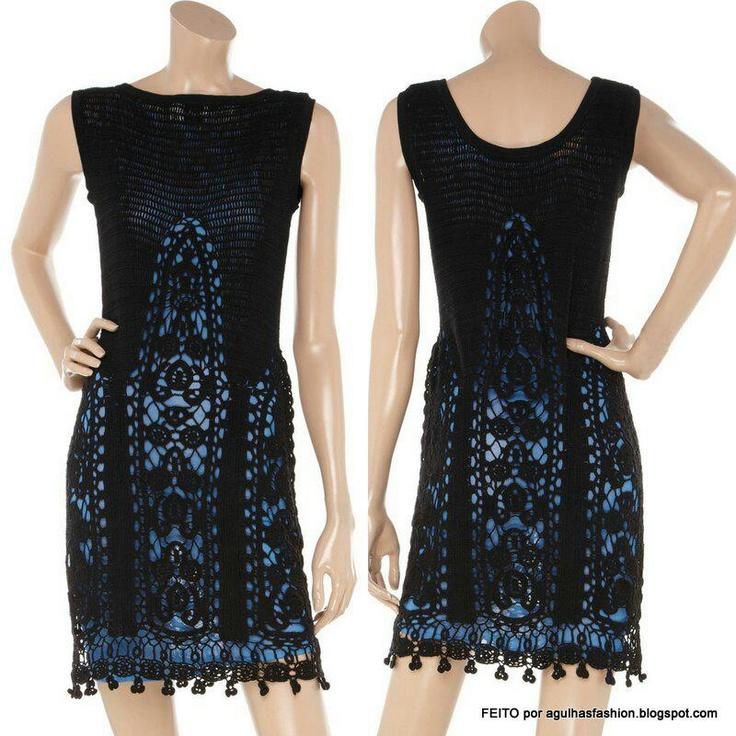 1211 mejores im genes sobre crochet or knit tops and dresses en pinterest patrones de su ter