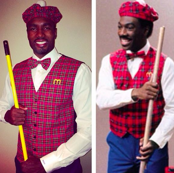 Serge Ibaka's awesome #Halloween costume