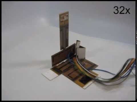 В Гарварде на 3D-принтере распечатали светодиодный светильник из полимеров, имеющих память формы. Таким образом, лампа способна собирать себя сама. #3D #Гарвард #технологии_будущего