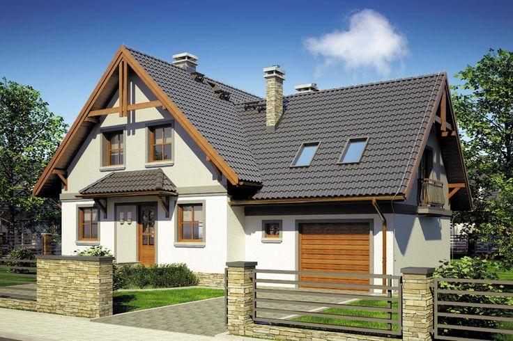 Projekt domu Mój Dom Tapien - DOM BM2-70 - gotowy projekt domu