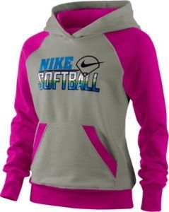 Want this! Nike softball sweatshirt!