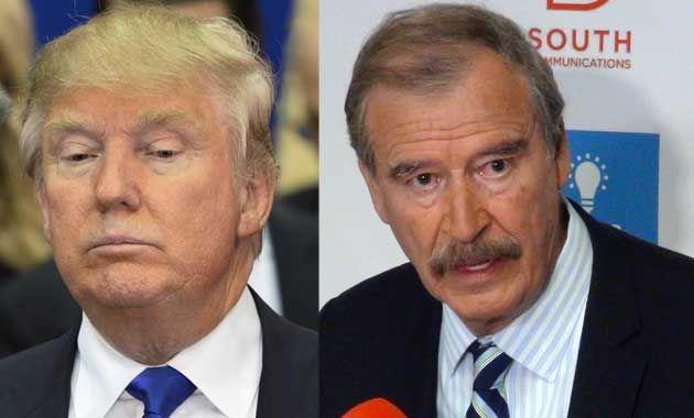 El insólito pedido de donaciones de Donald Trump a Vicente Fox - http://diariojudio.com/noticias/el-insolito-pedido-de-donaciones-de-donald-trump-a-vicente-fox/212090/