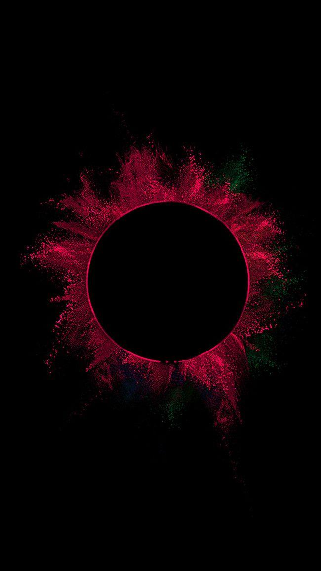 Simple Aesthetic Fantasy Literature H5 Background Black Background Wallpaper Simple Aesthetic Red And Black Wallpaper
