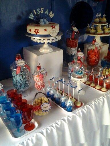 1st birthday candy bar
