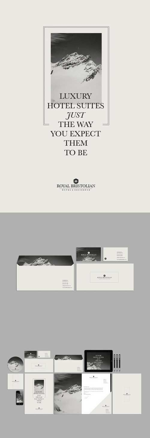 monochrome branding collection