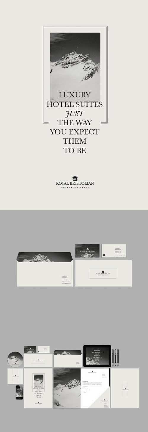monochrome branding collection
