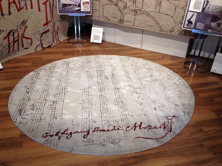 Music Area Rug Home Decor