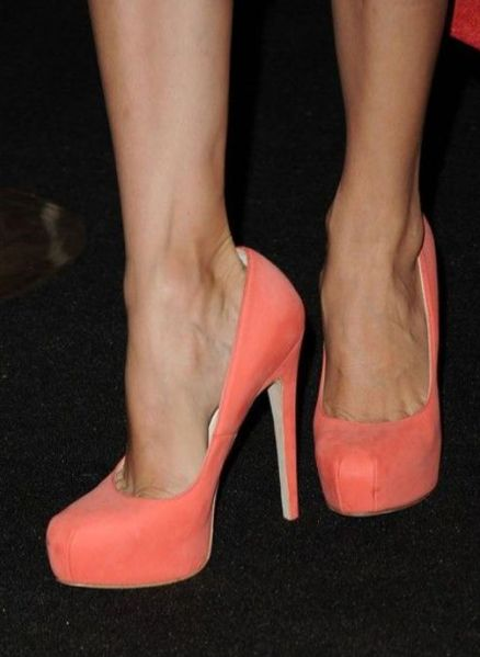 coral and suede... so in.