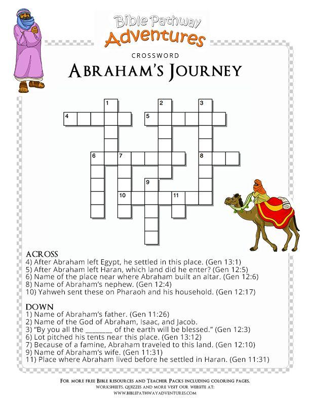 61 best Bible Crossword Puzzles images on Pinterest ...
