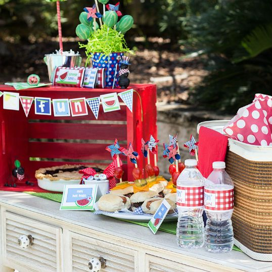 The Party Wagon - Blog - SUMMERTIME FUN: Water Bottle, Birthday Parties, July Picnics, Summertimefun, Parties Wagon, July Fun, Summertime Fun, Parties Ideas, Summertime Ideas