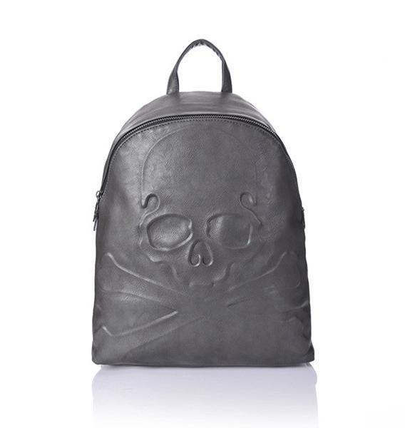 """""""Subtle"""" Skull Backpack"""
