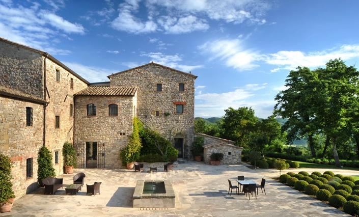 Castello di Reschio - Arrighi, Lisciano Niccone, Umbria