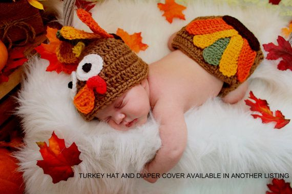 The Tiny Hunter & Huntress | baby turkey outfit | newborn pics | newborn turkey hunting photo