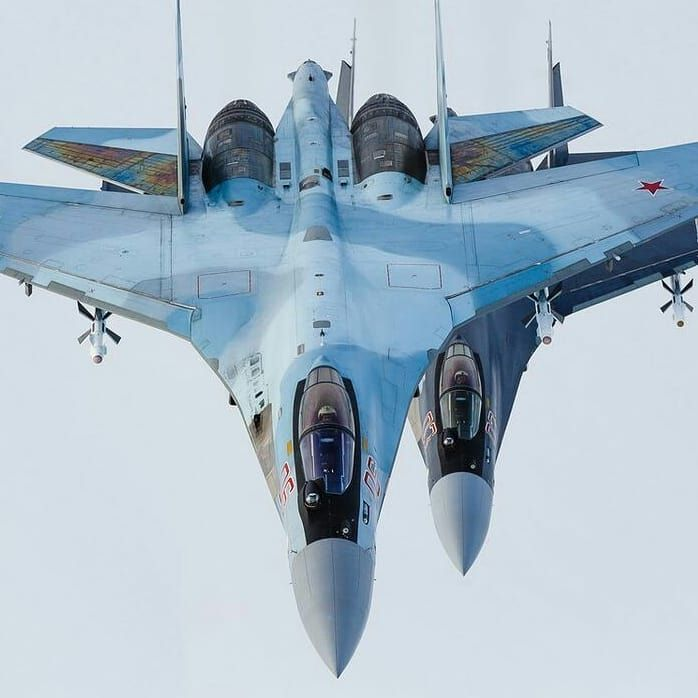 Standing In The Shadow. Sukhoi Su-30 Flanker. #su27flanker