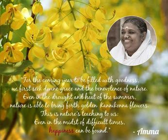 Even in the midst of difficult times ~ Happiness can be found ⊰♡⊱ Amma ~ Mata Amritanandamayi Devi
