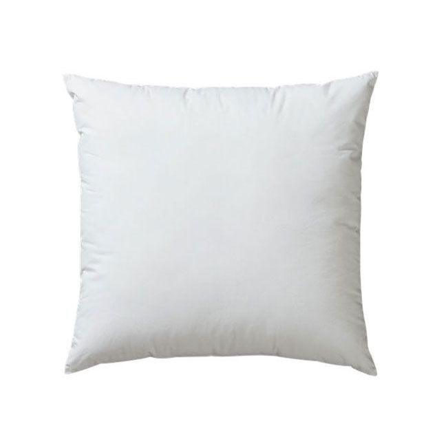Super-soft synthetic accent pillow insert with 100 percent ...