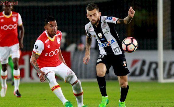 Não teve gol na Colômbia: Santos e Independiente Santa Fé empatam em 0 a 0 na Libertadores